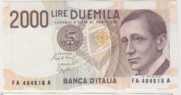 ITALIE 2000 Lires 1990 P115 UNC - [ 2] 1946-… : Républic