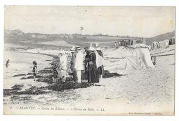 Cpa: 29 CARANTEC (ar. Morlay) Grèves De Kélenn - L'Heure Du Bain  N° 9 - Carantec