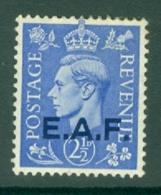 Somalia: 1943/46   KGVI 'E.A.F.' OVPT   SG S3   2½d     MH - Somalia