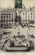 44 Nantes N°74 Place Royale Et Rue Crébillon Pub Générateurs Babcock & Wilcox Société Générale En 1912 - Nantes
