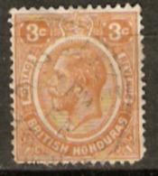 British Honduras 1922 SG 129 3cent Fine Used - British Honduras (...-1970)