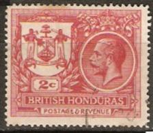 British Honduras 1921 SG 121 2cent Fine Used - British Honduras (...-1970)