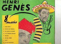 Vinyles > 33 T - LP > Comiques, Cabaret Genes Henri Baba Baion 25 CM - Humour, Cabaret