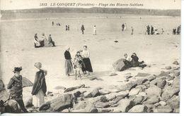 N°55119 -cpa Le Conquet -plage Des Blancs Sablons- - Le Conquet