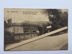 """BETHANE-GOÉ  Nº 562 """"Aubette-Restaurant PIRARD Et Route De La Gileppe """" Animée ( 1931) Édit HAYET-FAYMONVILLE - Restaurants"""