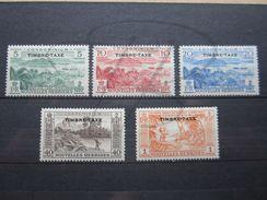VEND BEAUX TIMBRES TAXES DES NOUVELLES - HEBRIDES N° 36 - 40 , X !!! - Postage Due