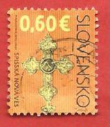 SLOVACCHIA SLOVENSKO USATO - 2010 - Virgin Mary In Spišska Nova Ves - 0,60 € - Michel  SK 628 - Slovacchia