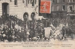 La Ferté-Macé - Fête De 1910 -inauguration école Primaire -  Scan Recto-verso - La Ferte Mace