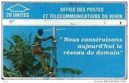 BENIN  20 UNITS  TELECOME WORKER  L&G BEN-03 USED !!  READ DESCRIPTION !! - Benin