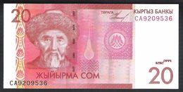 Kyrgyzstan 20 Som 2009 P24 UNC - Kirghizistan