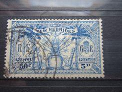 VEND BEAU TIMBRE DES NOUVELLES - HEBRIDES N° 95 !!! - Used Stamps