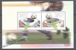 Guiné Bissau - Guinea 2002 Yvert BF 130, Football World Cup South Korea & Japan - Miniature Sheet -  MNH - Guinea-Bissau