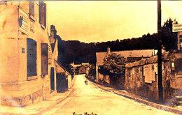 Carte Photo De Vieux Moulin Cpa Animée Circulée En 1908 Bon état Voir Scans - Photos