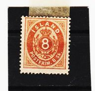 MAG1181  ISLAND 1873 Michl  4  (FALZ) Siehe ABBILDUNG - Neufs