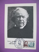 Carte-Maximum N°1299  Honoré Daumier  1961 - 1960-69
