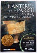 CPM CARTE COMMUNICATIONNANTERRE ET LES PARISII UNE CAPITALE AU TEMPS DES GAULOIS EXPOSITION CARTCOM 2008 - Histoire