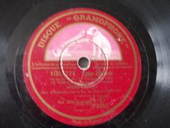 78T - Dans Mon Coeur Et Violetta De André Dassary - 78 G - Dischi Per Fonografi