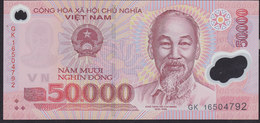 Vietnam 50000 Dong 2016 P121l UNC - Vietnam