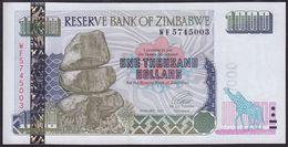 Zimbabwe 1000 Dollar 2003 P12 UNC - Zimbabwe