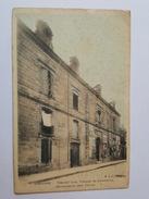 Libourne - Tribunal Civil, De Commerce, Gendarmerie (Rue Thiers) - Belle Carte Toilée - BJC éditeur - Libourne
