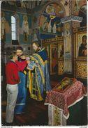 Monastère De CHEVETOGNE - Eglise Orientale - Communion Des Fidèles - Oblitération De 1975 - Ciney
