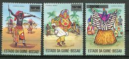 Guinée Bissau  ** PA 3 à 5 - Masques Folkloriques  - - Guinea-Bissau