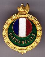 Dardanelles. Amicale Des Anciens Combattants. SM. Insigne De Boutonnière. - Armée De Terre