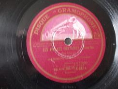 78T - Attends Moi Mon Amour Et Les Vieilles Fontaines Par Jacques Metehen - 78 Rpm - Schellackplatten