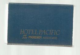 Tabac , Boite,  D'ALLUMETTES, 2 Scans, Japon , Japan , Meridien , TOKYO , Hotel PACIFIC - Boites D'allumettes