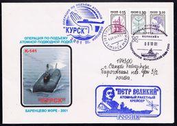 "ARCTIC,RUSSIA,Exped.Arctic 2001 Atom-U-Boat ""KUSK"",look Scan !! 2.6-01 - Navi Polari E Rompighiaccio"