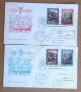 FDC Capitolium - Vaticano 1963 - Campagna Contro La Fame - 2 Raccomandate VG - Stamps