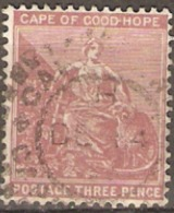 Cape Of Good Hope 1882 SG  3d Fine Used - South Africa (...-1961)