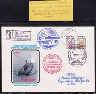 "ARCTIC,RUSSIA,Exped.Arctic 2001 Atom-U-Boat ""KUSK"",look Scan !! 31.5-14 - Navi Polari E Rompighiaccio"