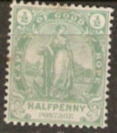 Cape Of Good Hope 1893 SG 58 Mounted Mint - África Del Sur (...-1961)