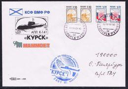 "ARCTIC,RUSSIA,Exped.Arctic 2001 Atom-U-Boat ""KUSK"",look Scan !! 31.5-15 - Navi Polari E Rompighiaccio"
