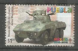 Musée Des Forces Armées Mexicaines à Puebla. Mexique.  Un Timbre Neuf ** - Militaria