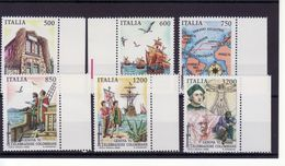 "1992 - SERIE "" GENOVA 92 - CELEBRAZIONI COLUMBIANE "" NUOVA MNH** VEDI++++ - 6. 1946-.. Republic"