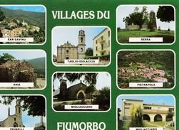 VILLAGES DU FIUMORBO. - 8 Villages. Carte RARE - France