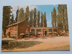 Café-Restaurant DERIET Bij Oorlogs Museum OVERLOON ( JP ) Anno 19?? ( Zie Foto Voor Details ) ! - Boxmeer