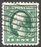 United States - Scott #498 Used (2) - Stati Uniti