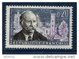 "FR YT 1271 "" Marc Sangnier "" 1960 Neuf** - France"