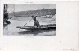 ADAM L.E. - La Fille Du Passeur - Incunable 1899  (99554) - Paintings
