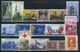 ITALIE ( LOT ) : LOT  DE  TIMBRES  NEUFS  SANS  TRACE  DE  CHARNIERE , GOMME  BICOLORE , A  VOIR . - Sammlungen