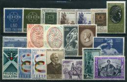 ITALIE ( LOT ) : LOT  DE  TIMBRES  NEUFS  SANS  TRACE  DE  CHARNIERE , GOMME  BICOLORE , A  VOIR . - Collections