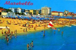 Marebello - Panorama Dalla Spiaggia - 299 - Formato Grande Viaggiata – E 2 - Rimini