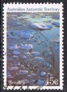Australian Antarctic Territory SG72 1985 Definitive 45c Good/fine Used [16/14937/6D] - Australian Antarctic Territory (AAT)