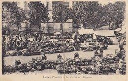 LUCON -    Le Marché Aux Légumes. - Lucon