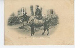 BIARRITZ - Femme Basque Se Rendant Au Marché - Biarritz