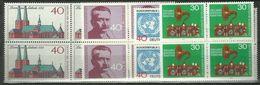 Bund 1973, 4x Nr. 779-81, 786,  Postfrisch - Unused Stamps
