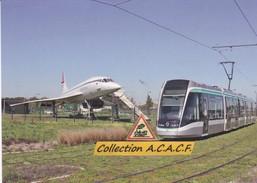 Tramway Citadis 302 Alstom (T7 RATP) Et Concorde, à Athis-Mons (91)  - - Athis Mons